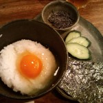 絶品!簡単卵かけご飯。濃厚クリーミー。黄身はからすみ?