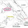 玄海原子力発電所と断層帯の位置関係