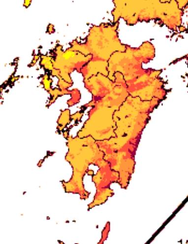 九州地震発生確率